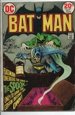 "DC Comics Batman #252 Oct. 1973 ""The Spook"" VG"