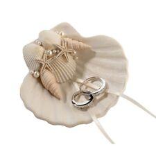 Wedding Ring Bowl Bearer Pillow Alternatives Beach Shell Ceremony Supplies Decor