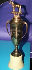 1949 Vintage Westwood Horse Show Trophy Dodge 14 inches Brass Cup