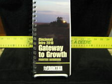 "John Deere ""Cincinnati Intro 2010 - Gateway to Growth - FRONTIER Handbook"