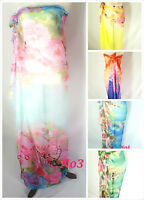 Ladies Various Beach Sarong Dress Wrap bikini Cover Up Scarf Dresses 180 x140cm