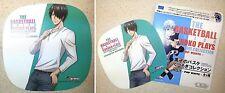 Kuroko's Basketball Kutsurogi Half Pop White Reusable Sticker Tatsuya Himuro New
