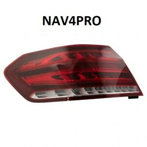 NEW 2014 Mercedes Benz E class OE Style Driver Side Outer Tail Light