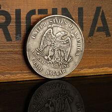 Antike Legierung Retro 1871 USA TRADE DOLLAR Gedenkmünzen Neu.