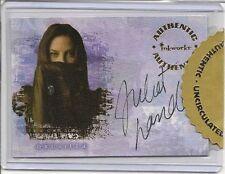 Buffy Reflections Autograph Card A6 Juliet Landau