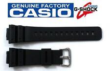 CASIO DW-6900 G-Shock 16mm Original Black Rubber Watch Band DW-6600 DW-6900B