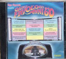 UMBERTO BINDI ROCCO GRANATA MINA JOE SENTIERI CATERINA VALENTE TONY DALLARA CD