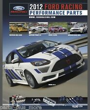 2012 Ford Racing Performance Parts Catalog Collectible M-0750-2012