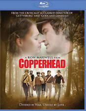 Copperhead (Blu-ray Disc, 2014) Civil war drama  Lucy Boynton, Peter Fonda