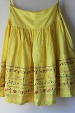 Morocco 100% cotton sequins summer boho skirt for women size 8
