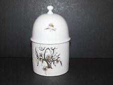 Rosenthal 100 ans 1980 Studio Linie porcelaine blanche couvercle pot bocal Panier Design