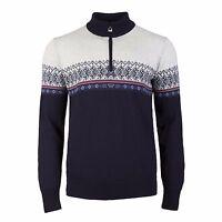 NEW!!  Dale of Norway  HOVDEN  Men's Norwegian Wool Sweater  NAVY