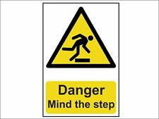 Scan - Danger Mind the step - PVC 200 x 300mm