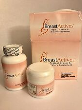 Breast Actives All Natural  Breast Enhancement Combo Kit  (DAMAGED BOX)
