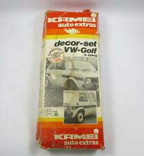 original KAMEI Decor Set für VW Golf 1 MK1 2-türer GTI NEU schwarz 49220