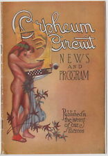 Vintage 1926 ORPHEUM CIRCUIT NEWS and PROGRAM