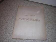 1911.catalogue vente Pierre Decourcelle avec prix & acheteur.Fragonard Watteau