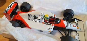 Minichamps 1:18 McLaren MARLBORO Honda MP4/6 1991 Ayrton Senna 540911801