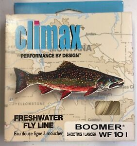 Climax Boomer WF10 I  Intermediate Sinking 30 yard Fly Line