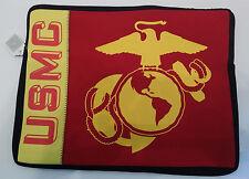 US MARINE CORPS USMC NEOPRENE LAPTOP SLEEVE - MADE IN THE USA!!