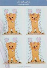 Kimbearly's Original Teddy Bear Stickers Journaling Scrapbook Planner Stickers