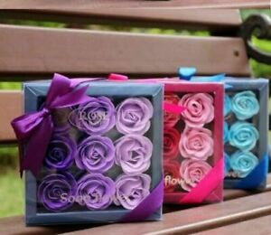 Rose Soap Gift Rose Petals Bathing Soap With Gift Box Romantic Gift By Handmade