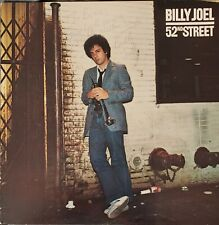 Billy Joel 52nd Street Signed by Billy Fc 35609 classic pop rock 1978 Columbia