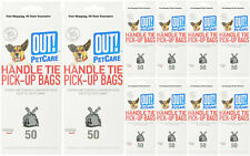 out 50 Count Handle Tie Waste Pick-up Bags for Dogs Detailed Information Below
