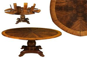 Mahogany Finished Solid Wood Traditional Jupe Table