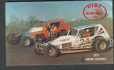 D.I.R.T. of Central New York 1979 car track racing schedule/Canandaigua/Weedspor