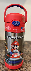 Thermos Mario Kart 12oz FUNtainer Stainless Steel Water Bottle Cold Drink Sipper
