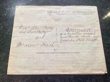 Antique Vellum Indenture 1844, Conveyance of Magdalen St, Colchester, Essex