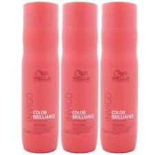 Wella INVIGO Color Brilliance Shampoo 3 x 250 ml für feines coloriertes Haar Set