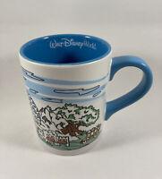 Disney World Hollywood Tower Epcot Everest Ride Abominable Coffee Mug