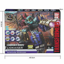 Transformers Generations Combiner Wars LIOKAISER Platinum Edition Action Figure