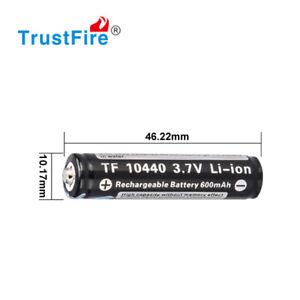 Trustfire 10440 - 300mAh 3,6V - 3,7V geschützte Li-Ionen-Zelle