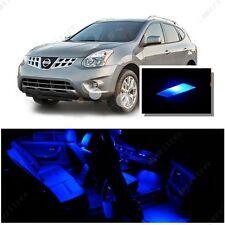 For Nissan Rogue 2008-2013 Blue LED Interior Kit + Blue License Light LED