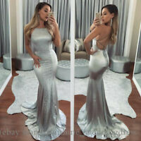 Sexy Mermaid Prom Dresses Spaghetti Cross Backless Formal Party Evening Dresses