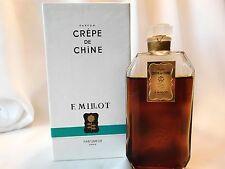 Vintage F. MILLOT CREPE DE CHINE  2 OZ / 60 ML Parfum / Perfume, Sealed Bottle