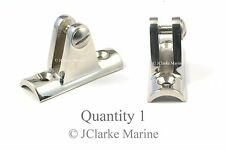 Boat Cover/Canopy Fitting - HD Cast Concave hinge for bar or frame work