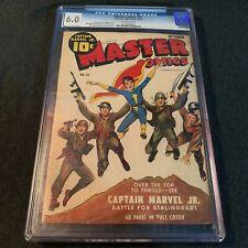 MASTER COMICS #43 Fawcett Publications 1943 Mac Raboy cover CGC 6.0 F