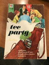 Rare Golf TEE PARTY   Game 1969 Complete Milton Bradley