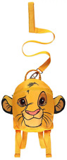The Lion King Rucksack With Reins Boys Toddler Backpack One Size Yellow