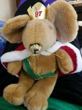 "Nutcracker Ballet Mouse King 1997 Vintage Dayton Hudson 15"" Christmas  Stuffed"