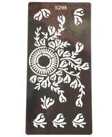 Circle Festival Temporary Tattoo Henna Henna Inks Stencils Template