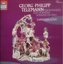 Georg Philipp Telemann Trio Sonatas CAMERATA KOLN - UPC 077774757324 - German CD