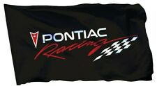 Pontiac Racing Flag Banner 3x5 ft General Motors