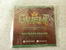 Pax East 2017 Gwent Collectible Patch Set- NORTHERN REALMS