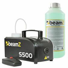 BeamZ S500-P Machine à fumée en plastique + 1L de liquide, 500 Watts, machine à