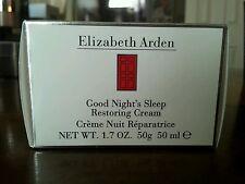 Elizabeth Arden Good Night's Sleep Restoring Cream 1.7 oz/50 ml New and Boxed